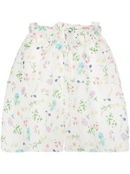 Paper London Wild Card Floral Bag Shorts