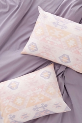 Plum And Bow Summer Kilim Pillowcase Set Pink