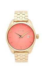 Nixon The Bullet Living Colour Watch Gold Coral