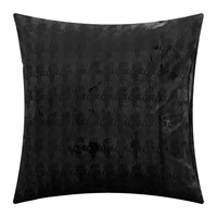 Karl Lagerfeld Profile Square Pillowcase Set Of 2 Black