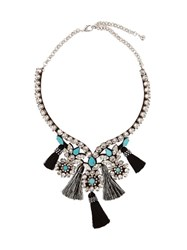 Shourouk Pasha Necklace Black Blue