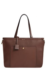 Louise Et Cie Jael Leather Tote Brown Vintage Brandy