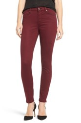 7 For All Mankind The Ankle Skinny Purple