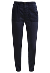Marc O'polo Trousers Dusk Blue Dark Blue
