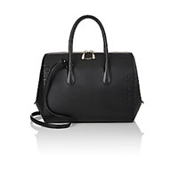 Nina Ricci Women's Youkali Medium Satchel Black Blue Black Blue