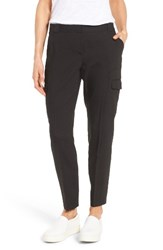 Nordstrom Women's Collection Linen Blend Cargo Trousers
