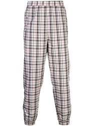 Opening Ceremony Plaid Track Pants Pink