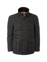 White Stuff Arctic Puffer Jacket Charcoal