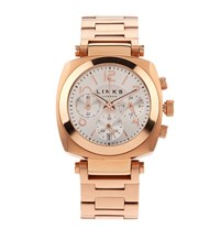 Links Of London Rose Gold Brompton Chronograph Watch Female