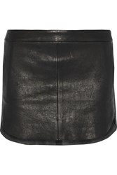 Mason By Michelle Mason Leather Mini Skirt