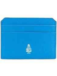 Mark Cross Card Holder Blue