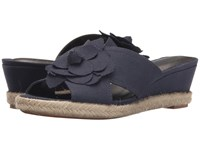 Lifestride Omega Navy Women's Flat Shoes