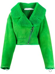 Off White Woman Shearling Jacket 60