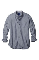 Men's Big And Tall Tommy Bahamas 'Dobby Del Sol' Sport Shirt Night Swim