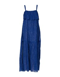 Leon And Harper Long Dresses Blue
