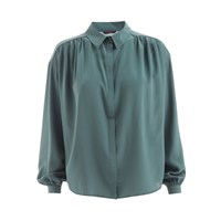 Wtr Empire Silk Shirt Imperial Green