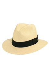 Scala Panama Straw Safari Hat Natural
