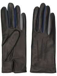 Agnelle Cut Out Detailed Gloves Black