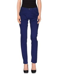 19.70 Nineteen Seventy Trousers Casual Trousers Women Bright Blue