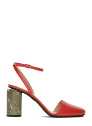 Acne Studios Adeline Heeled Pumps Red