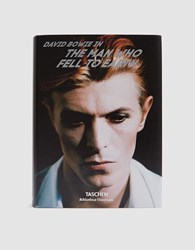 Taschen David Bowie The Man Who Fell To Earth Multi