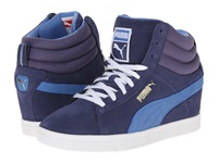 Puma Pc Wedge Basic Sports Crown Blue Women's Shoes