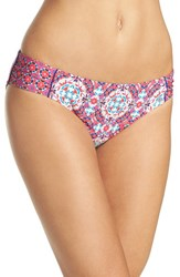 Laundry By Shelli Segal Women's Mayan Escape Side Tab Hipster Bottoms