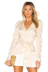 Alice Mccall Blue Moon Blouse Ivory