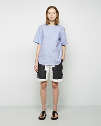 Alexander Wang Webbed Cargo Short Bleach