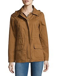 Candc California Cotton Anorak Jacket Camel