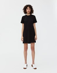 Re Done T Shirt Dress In Stone Black