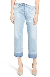 Citizens Of Humanity Women's Cora High Rise Released Hem Boyfriend Jeans