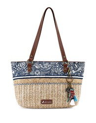 Sakroots Small Ellis Tote Navy Blue