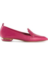 Nicholas Kirkwood Textured Loafer Pink And Purple