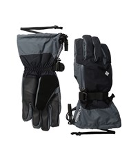 Columbia Bugaboo Interchange Glove Black Graphite Extreme Cold Weather Gloves