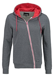 Your Turn Tracksuit Top Dark Grey Mottled Dark Grey
