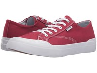 Huf Classic Lo Ess Tx Red Men's Skate Shoes