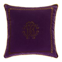Roberto Cavalli Venezia Cushion 40X40cm Purple