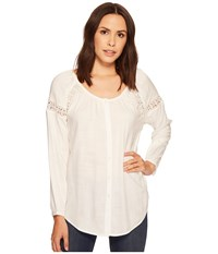 Ariat Heather Top Snow White Women's Long Sleeve Pullover