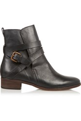See By Chloe Suede Ankle Boots Black