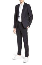 The Kooples Slim Fit Suit Jacket Navy