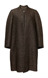 Lanvin Tricotton Evening Coat Gold
