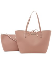 Guess Bobbi Inside Out Tote Latte Multi