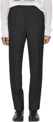 Maison Martin Margiela Black Suit Trousers