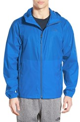 The North Face Men's 'Cyclone' Windwall Raincoat Bomber Blue