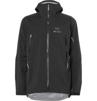 Arc'teryx Zeta Ar Gore Tex Hooded Jacket Black