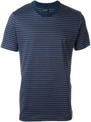 Ps Paul Smith Striped T Shirt Blue
