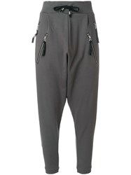 Unconditional Harem Trousers Grey