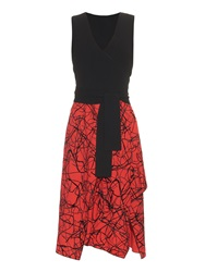 Proenza Schouler V Neck Layered Dress