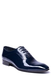 Jared Lang Jimmy Cap Toe Oxford Navy Leather